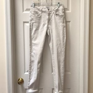 AGOLDE Sophie Hi Rise White Jeans